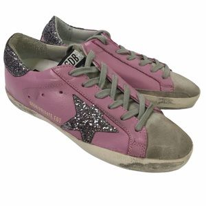 GOLDEN GOOSE Superstar RARE Lilac Purple NEW